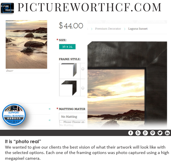 photoreal Oversized Art Custom Framing The Woodlands Texas Framing Gifts Small Business Michael's Framing Photo Printing Sale Michael's Custom Framing Houston Texas