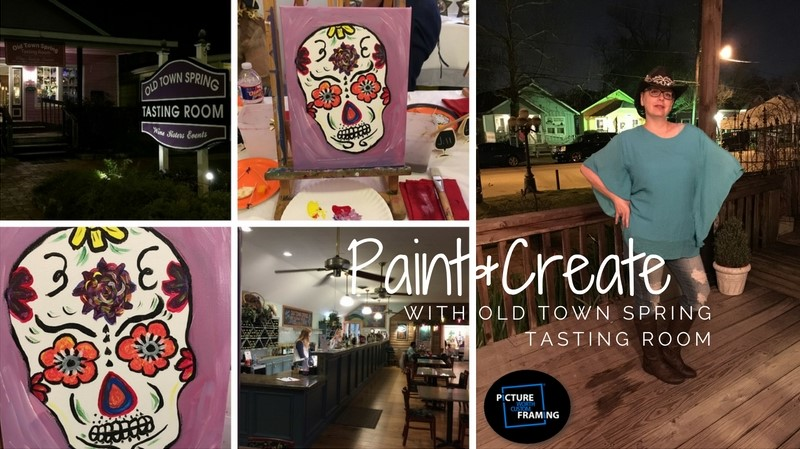 tasting room old town spring paintcreate framing gifts small business michaels framing photo printing sale michaels