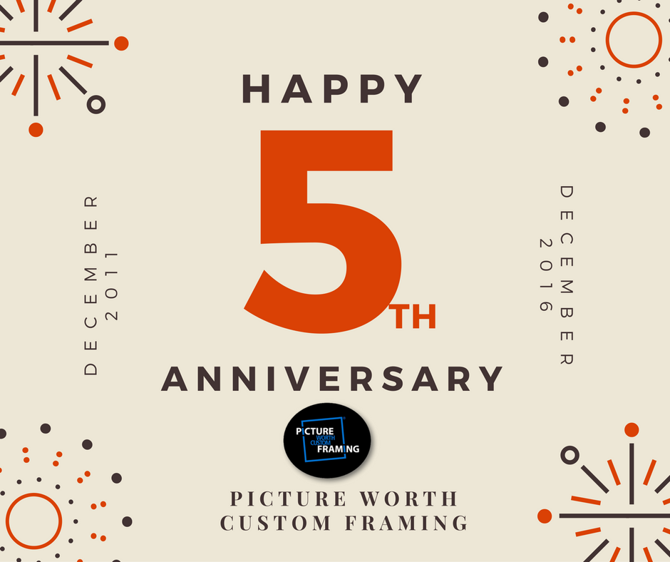happy5thyearanniversary best custom framing pictureworthcfcom oversized art custom framing online the woodlands texas framing happy5tbirthdaypwcf