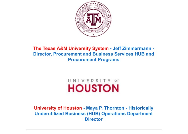 Greater Houston Business Procurement Forum – Picture Worth Custom